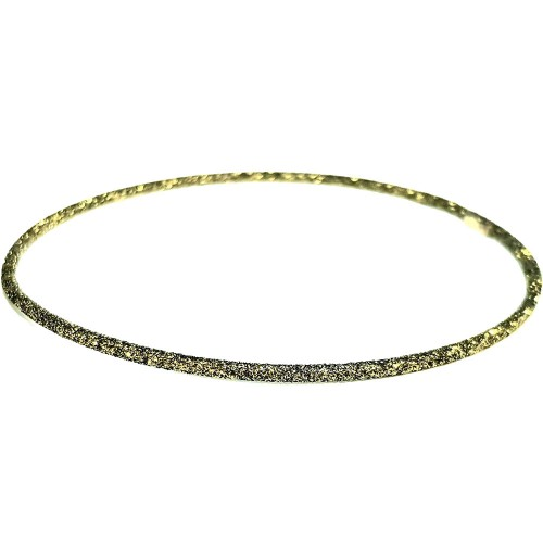 Verita Βέργα ασήμι 925 σε Χρυσό Λαδί Σαγρέ